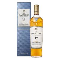 MACALLAN 麦卡伦 三桶 12年 单一麦芽 苏格兰威士忌 40%vol