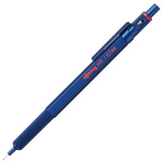 rOtring 红环 防断芯自动铅笔 600 蓝色 0.5mm 单支装