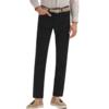 JOEONE 九牧王 男士直筒长裤 JBV1071712 黑色 170/74A