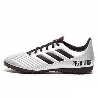 adidas 阿迪达斯 Predator 19.4 TF 中性足球鞋 F35634 黑银 37