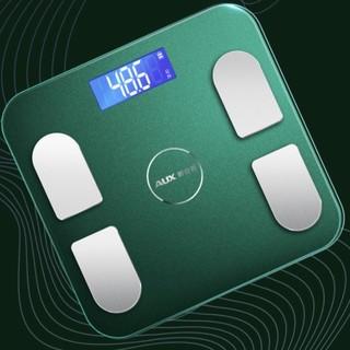 AUX 奥克斯 AU-F003 电子秤 橄榄绿 USB充电版