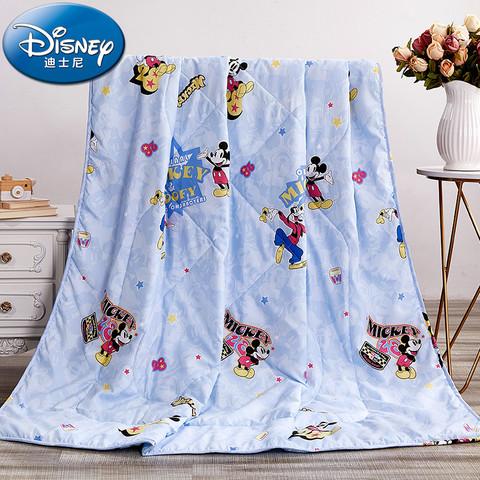 Disney 迪士尼 儿童空调被夏季薄款幼儿园夏凉被夏被午睡卡通小被子可机洗