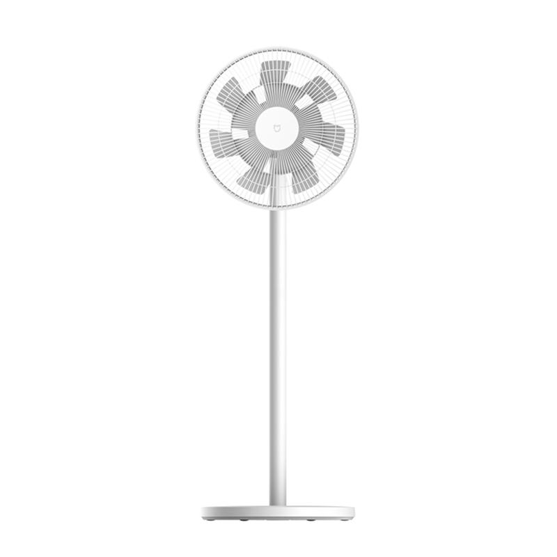 小米电风扇落地扇电池版可充电轻音电风扇二代无线家用智能遥控立式台式直流变频自然风模拟 米家直流变频落地扇2 电池版