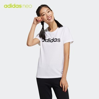 adidas 阿迪达斯 neo GP7139 女子运动T恤