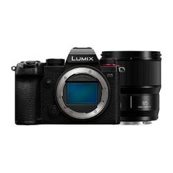 Panasonic 松下 LUMIX S5 全画幅 微单相机 黑色 85mm F1.8 定焦镜头 单头套机
