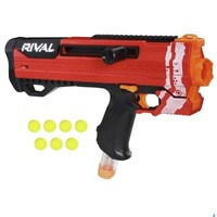 孩之宝 NERF热火竞争者系列 E3121 赫利俄斯发射器红版(手动)
