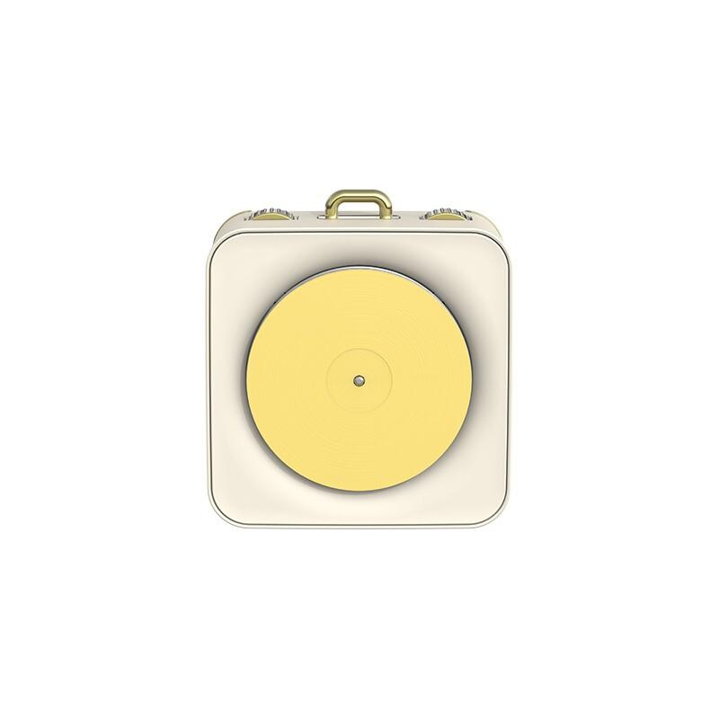 SOLOVE 素乐 M1 便携蓝牙音箱 白日梦—黄色