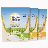 Nutrilon 诺优能 婴幼儿高铁米粉  200g*3袋