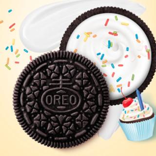 OREO 奥利奥 夹心饼干 生日蛋糕味