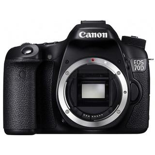 Canon 佳能 EOS 70D APS-C画幅 数码单反相机 黑色 单机身