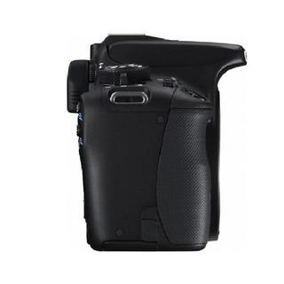 Canon 佳能 EOS 100D APS-C画幅 数码单反相机 黑色 单机身