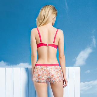 泳衣女比基尼罩衫三件套游泳衣温泉保守性感分体泳衣