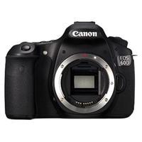 Canon 佳能 EOS 60D APS-C画幅 数码单反相机 黑色 单机身