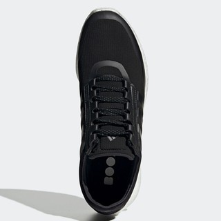adidas 阿迪达斯 Rocket Boost m 中性跑鞋 FW7777 黑白 44