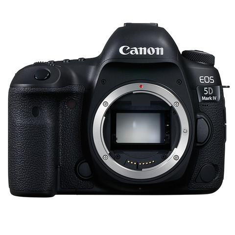 PLUS会员:Canon 佳能 EOS 5D Mark IV 全画幅 数码单反相机 黑色 单机身