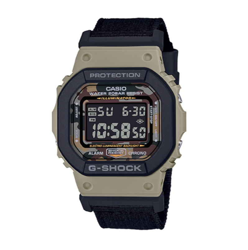 CASIO 卡西欧 G-SHOCK系列 43.8毫米电子腕表