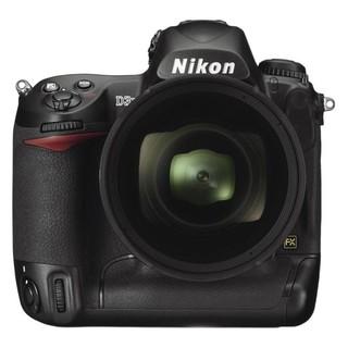 Nikon 尼康 D3X 全画幅 数码单反相机 黑色 单机身