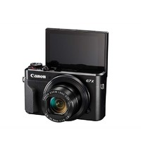Canon 佳能 G7 X2 1英寸数码相机 (8.8-36.8mm、F1.8-2.8) 黑色