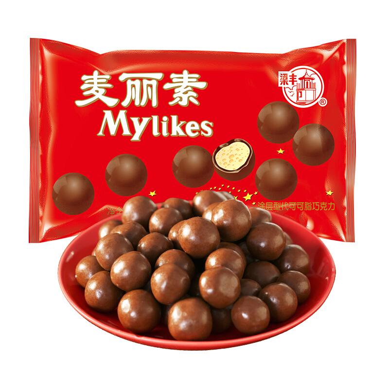 梁丰 麦丽素巧克力  30g
