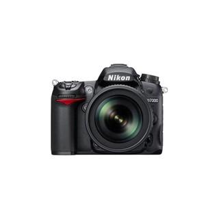 Nikon 尼康 D7000 APS画幅 数码单反相机 黑色 单机身