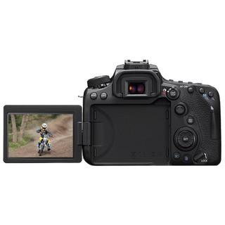 Canon 佳能 EOS 90D APS-C画幅 数码单反相机 黑色 单机身