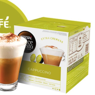 Nestlé 雀巢 Dolce Gusto 多趣酷思 卡布奇诺 胶囊咖啡