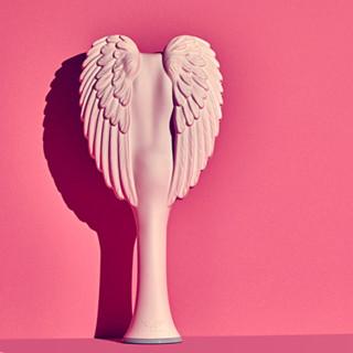 TANGLE ANGEL 天使梳 英国天使美发梳 中号 #磨砂粉色