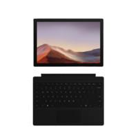 Microsoft 微软 Surface Pro 7 12.3英寸 Windows 10 平板电脑+典雅黑键盘(2736*1824dpi、酷睿i5-1035G4、8GB、128GB SSD、WiFi版、亮铂金、VDV-00009)
