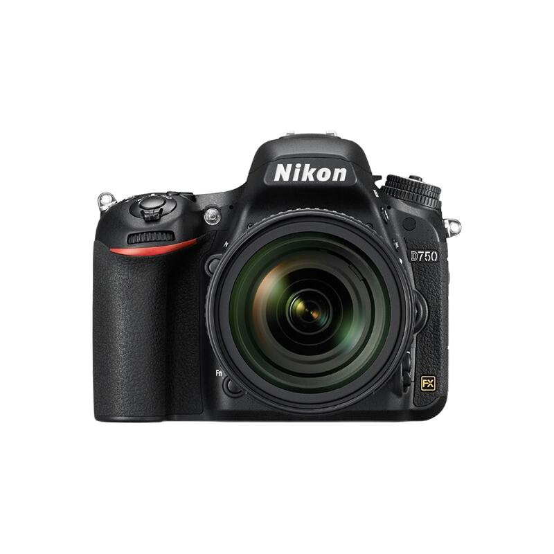 Nikon 尼康 D750 全画幅 数码单反相机 黑色 24-120mm F4G ED VR 变焦镜头 单镜头套机