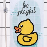 B.Duck 小黄鸭 浴室防滑垫 自由自在 40*70cm