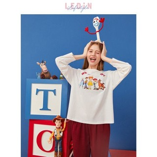 LEDIN CLDCA3212 玩具总动员联名 女士长袖睡衣