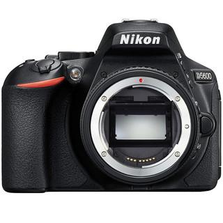 Nikon 尼康 D5600 APS-C画幅 数码单反相机 黑色 单机身