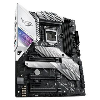 华硕 玩家国度ROG STRIX Z490-A GAMING 吹雪主板支持10代CPU 10900K Z490-A GAMING吹雪白色限量版
