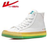 百亿补贴:回力 葫芦娃联名 b111-gd 高帮帆布鞋