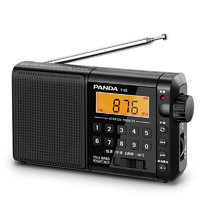 PANDA 熊猫 T-02 收音机 黑色