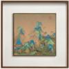 王希孟名画复刻版画-千里江山图 方形版-A款 中号 55x55cm