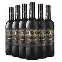 百亿补贴:CHANGYU 张裕 先锋威牛干红葡萄酒 750mL*6瓶
