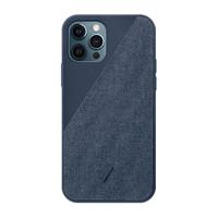NATIVE UNION iPhone 12 Pro Max 布艺手机壳 靛蓝色
