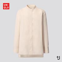 UNIQLO 优衣库 436189 设计师合作款 女士立领衬衫