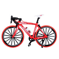 优迭尔 自行车模型 红色