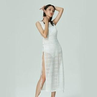 shine love 心爱  SL60Y51 女士蕾丝镂空沙滩裙