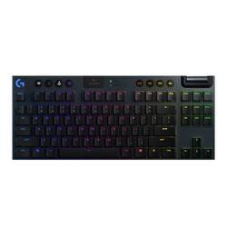 logitech 罗技 G913 TKL 87键 双模无线机械键盘 黑色 GLT机械轴