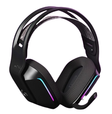 logitech 罗技  G733 耳罩式头戴式无线耳机 黑色