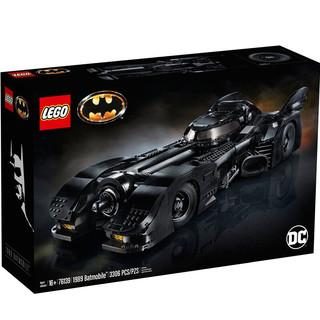 黑卡会员 : LEGO 乐高 超级英雄系列 76139 1989Batmobile 蝙蝠战车