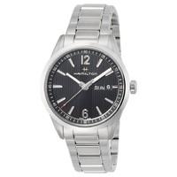 HAMILTON/汉米尔顿 H43311135百老汇男士石英手表