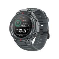 AMAZFIT 华米 T-Rex Pro 智能手表 47.7mm 陨石黑 黑色硅胶表带(北斗、GPS、血氧、NFC)