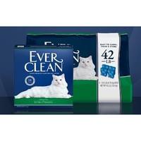 Ever Clean 铂钻 活性炭除臭猫砂 绿标 50磅