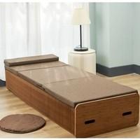十八纸 折叠风琴纸床90cm宽+床垫