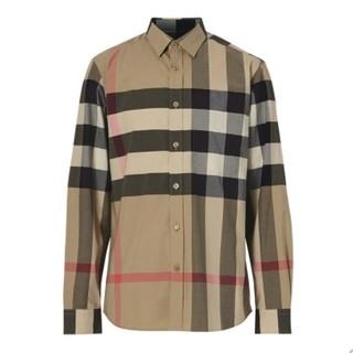 考拉海购黑卡会员 : BURBERRY 博柏利 VINTAGE系列 男士长袖经典款式格纹衬衫
