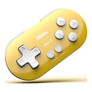 8BITDO 八位堂 Zero2 无线游戏手柄 柠檬黄